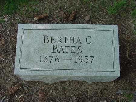 FREED BATES, BERTHA - Columbiana County, Ohio | BERTHA FREED BATES - Ohio Gravestone Photos