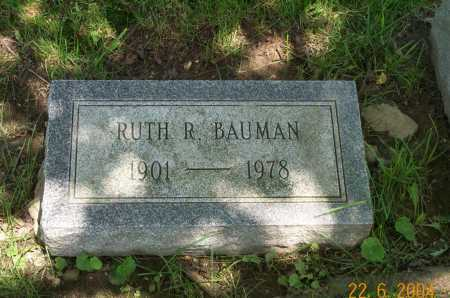 MCLAUGHLIN BAUMAN, RUTH - Columbiana County, Ohio | RUTH MCLAUGHLIN BAUMAN - Ohio Gravestone Photos