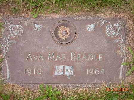 BEADLE, AVA MAE - Columbiana County, Ohio | AVA MAE BEADLE - Ohio Gravestone Photos