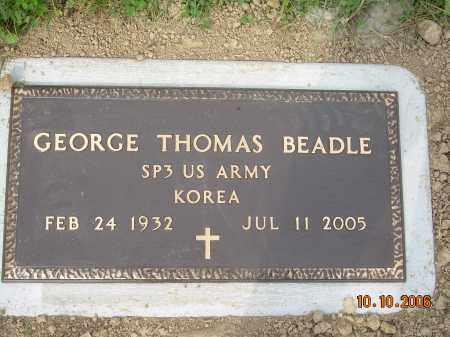 BEADLE, GEORGE THOMAS - Columbiana County, Ohio | GEORGE THOMAS BEADLE - Ohio Gravestone Photos