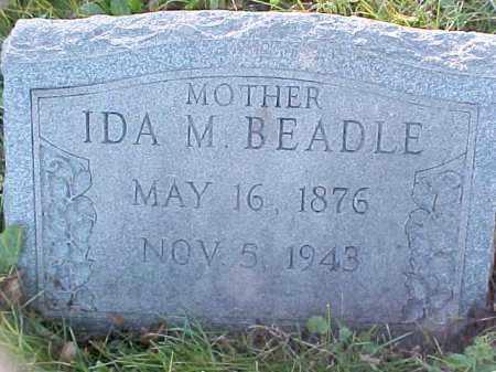 BEADLE, IDA M - Columbiana County, Ohio | IDA M BEADLE - Ohio Gravestone Photos