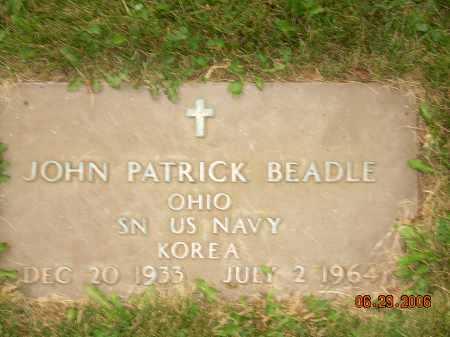 BEADLE, JOHN PATRICK - Columbiana County, Ohio | JOHN PATRICK BEADLE - Ohio Gravestone Photos