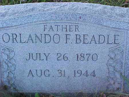 BEADLE, ORLANDO FRANKLIN - Columbiana County, Ohio | ORLANDO FRANKLIN BEADLE - Ohio Gravestone Photos