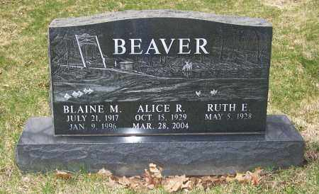 BEAVER, BLAINE M. - Columbiana County, Ohio | BLAINE M. BEAVER - Ohio Gravestone Photos