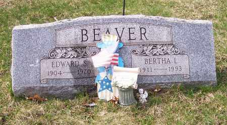BEAVER, EDWARD S. - Columbiana County, Ohio | EDWARD S. BEAVER - Ohio Gravestone Photos