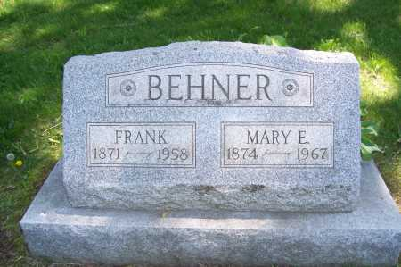 BEHNER, MARY - Columbiana County, Ohio | MARY BEHNER - Ohio Gravestone Photos
