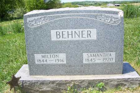 BEHNER, MILTON - Columbiana County, Ohio | MILTON BEHNER - Ohio Gravestone Photos
