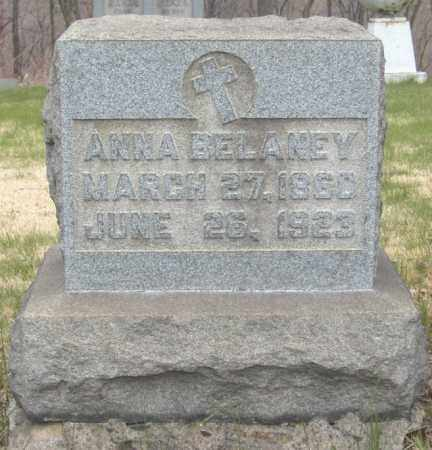 BELANEY, ANNA - Columbiana County, Ohio | ANNA BELANEY - Ohio Gravestone Photos