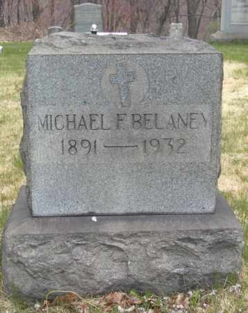 BELANEY, MICHAEL F. - Columbiana County, Ohio | MICHAEL F. BELANEY - Ohio Gravestone Photos