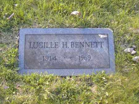 BENNETT, LUCILLE H. - Columbiana County, Ohio | LUCILLE H. BENNETT - Ohio Gravestone Photos