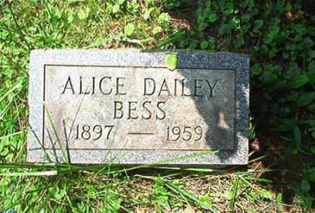 DAILEY BESS, ALICE - Columbiana County, Ohio | ALICE DAILEY BESS - Ohio Gravestone Photos