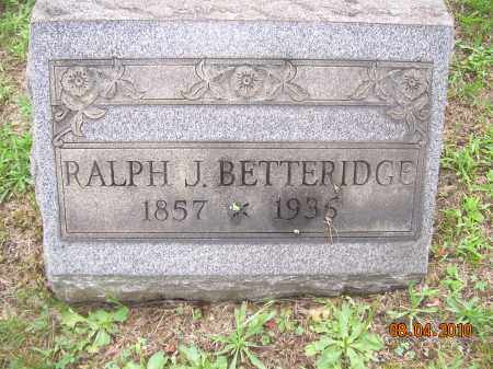BETTERIDGE, RALPH J - Columbiana County, Ohio | RALPH J BETTERIDGE - Ohio Gravestone Photos