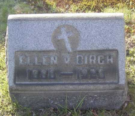 BIRCH, ELLEN V. - Columbiana County, Ohio | ELLEN V. BIRCH - Ohio Gravestone Photos
