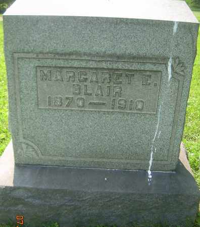 BLAIR, MARGARET E - Columbiana County, Ohio | MARGARET E BLAIR - Ohio Gravestone Photos