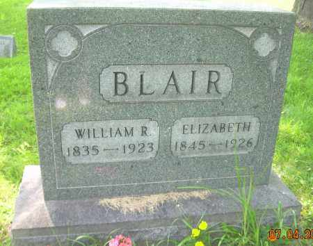 BLAIR, WILLIAM R. - Columbiana County, Ohio | WILLIAM R. BLAIR - Ohio Gravestone Photos