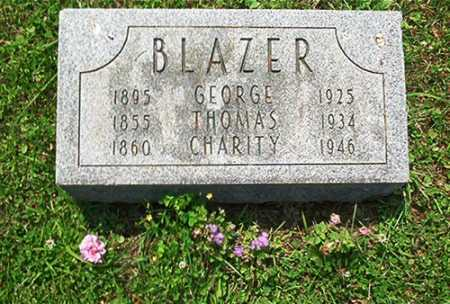 BLAZER, CHARITY - Columbiana County, Ohio | CHARITY BLAZER - Ohio Gravestone Photos