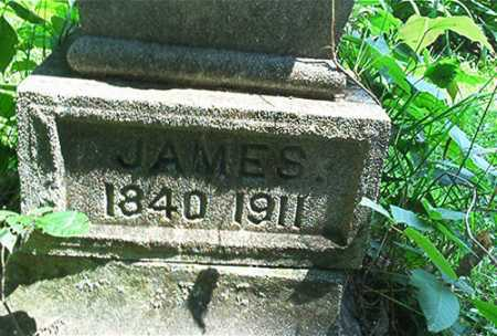 BLAZER, JAMES [CLOSE UP] - Columbiana County, Ohio | JAMES [CLOSE UP] BLAZER - Ohio Gravestone Photos