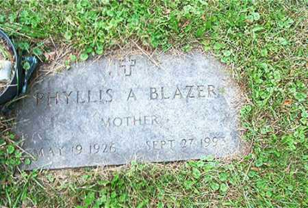 BLAZER, PHYLLIS A. - Columbiana County, Ohio | PHYLLIS A. BLAZER - Ohio Gravestone Photos