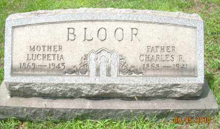 BRIGHT BLOOR, LUCRETIA - Columbiana County, Ohio | LUCRETIA BRIGHT BLOOR - Ohio Gravestone Photos