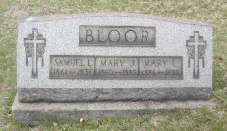 BLOOR, SAMUEL L. - Columbiana County, Ohio | SAMUEL L. BLOOR - Ohio Gravestone Photos