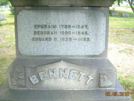 BENNETT, EPHRAIM - Columbiana County, Ohio | EPHRAIM BENNETT - Ohio Gravestone Photos