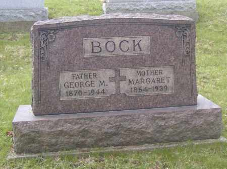 BOCK, GEORGE M. - Columbiana County, Ohio | GEORGE M. BOCK - Ohio Gravestone Photos