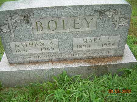 BOLEY, NATHAN A - Columbiana County, Ohio | NATHAN A BOLEY - Ohio Gravestone Photos