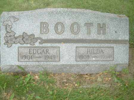 BOOTH, EDGAR - Columbiana County, Ohio | EDGAR BOOTH - Ohio Gravestone Photos