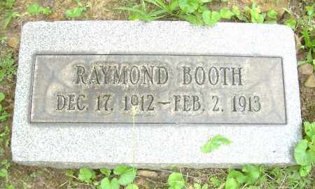 BOOTH, RAYMOND - Columbiana County, Ohio | RAYMOND BOOTH - Ohio Gravestone Photos