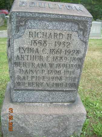 BOULTON, RALPH E - Columbiana County, Ohio | RALPH E BOULTON - Ohio Gravestone Photos