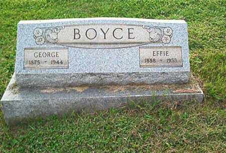 BOYCE, EFFIE - Columbiana County, Ohio | EFFIE BOYCE - Ohio Gravestone Photos