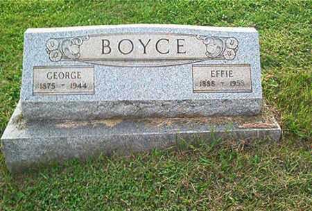 BOYCE, GEORGE - Columbiana County, Ohio | GEORGE BOYCE - Ohio Gravestone Photos