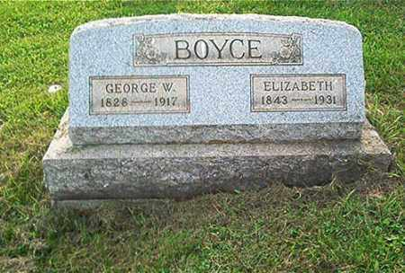 BOYCE, ELIZABETH - Columbiana County, Ohio | ELIZABETH BOYCE - Ohio Gravestone Photos