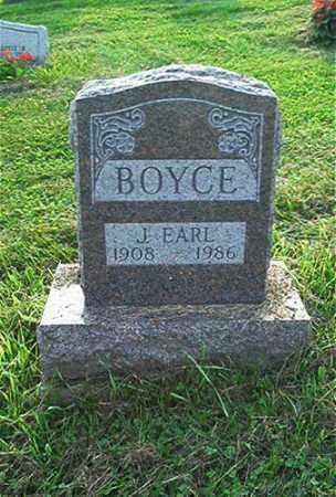 BOYCE, J. EARL - Columbiana County, Ohio | J. EARL BOYCE - Ohio Gravestone Photos