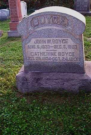 BOYCE, CATHERINE - Columbiana County, Ohio | CATHERINE BOYCE - Ohio Gravestone Photos
