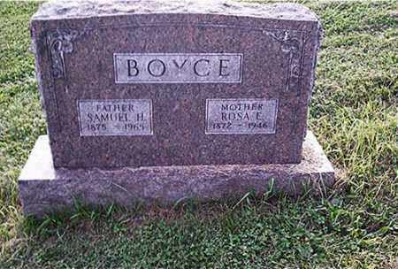 BOYCE, SAMUEL H. - Columbiana County, Ohio | SAMUEL H. BOYCE - Ohio Gravestone Photos