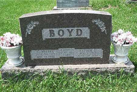 BOYD, ESTHER E. - Columbiana County, Ohio | ESTHER E. BOYD - Ohio Gravestone Photos