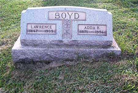 BOYD, LAWRENCE - Columbiana County, Ohio | LAWRENCE BOYD - Ohio Gravestone Photos