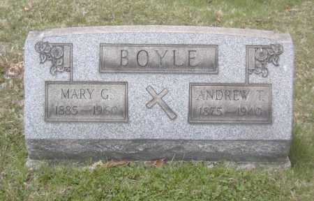 BOYLE, ANDREW T. - Columbiana County, Ohio | ANDREW T. BOYLE - Ohio Gravestone Photos