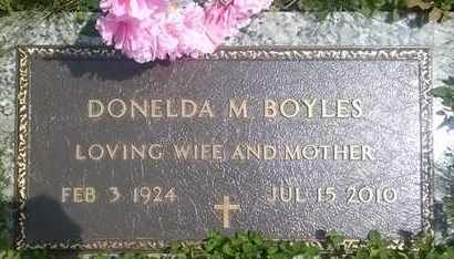 BOYLES, DONELDA - Columbiana County, Ohio | DONELDA BOYLES - Ohio Gravestone Photos