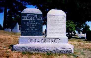 BRADSHAW, ENOCH - Columbiana County, Ohio | ENOCH BRADSHAW - Ohio Gravestone Photos