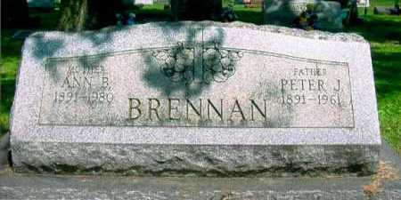 BRENNAN, PETER J. - Columbiana County, Ohio | PETER J. BRENNAN - Ohio Gravestone Photos