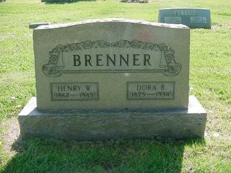 HOOD BRENNER, DORA - Columbiana County, Ohio | DORA HOOD BRENNER - Ohio Gravestone Photos