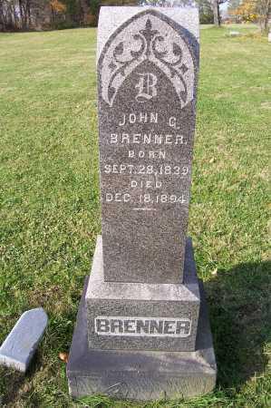 BRENNER, JOHN G. - Columbiana County, Ohio | JOHN G. BRENNER - Ohio Gravestone Photos