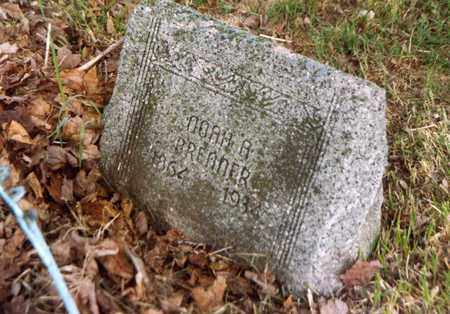 BRENNER, NOAH - Columbiana County, Ohio | NOAH BRENNER - Ohio Gravestone Photos