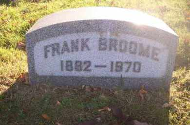 BROOME, FRANK - Columbiana County, Ohio | FRANK BROOME - Ohio Gravestone Photos