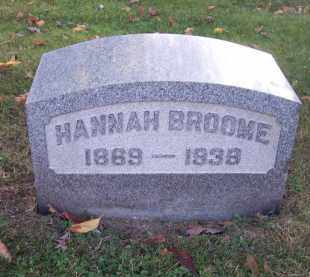 BROOME, HANNAH - Columbiana County, Ohio | HANNAH BROOME - Ohio Gravestone Photos