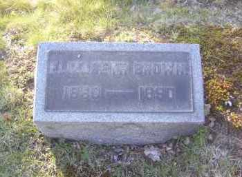 BROWN, ELIZABETH - Columbiana County, Ohio | ELIZABETH BROWN - Ohio Gravestone Photos