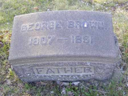 BROWN, GEORGE - Columbiana County, Ohio | GEORGE BROWN - Ohio Gravestone Photos