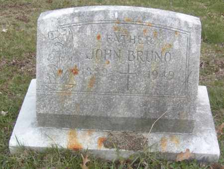 BRUNO, JOHN - Columbiana County, Ohio | JOHN BRUNO - Ohio Gravestone Photos
